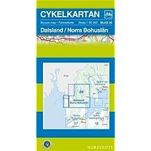 Dalsland/Bohuslan North Cycling Map: SE.CYK.20