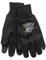 Wincraft Tapis Motif Oklahoma City Thunder NBA Technologie Écran tactile Gants