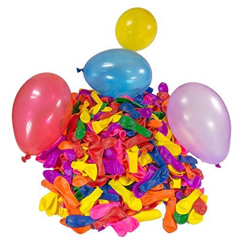 WopenJucy 200 Wasser-bomben Mega-Pack Wasser-Ballons Luft-Ballon Mehrfarbig