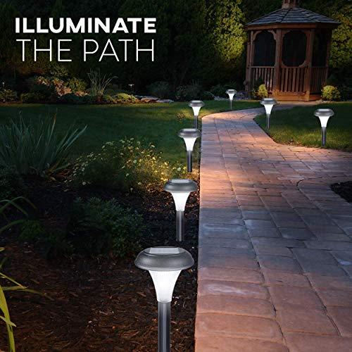 Set aus 10 Solar Garten Leuchten - 4