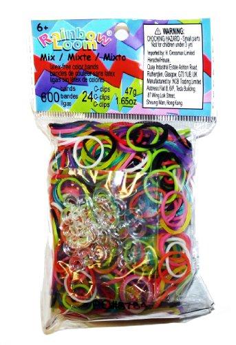 Rainbow Looms / Arcobaleno Telai - Bande Colour Mix - Confezione di ricambio
