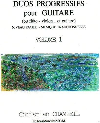 Duos Progressifs pour Guitare,flûte,violon