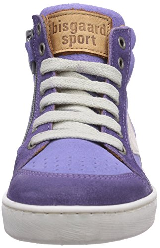 Bisgaard Shoe with laces Unisex-Kinder Hohe Sneakers Violett (96 Lavender)