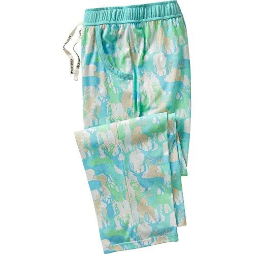 Legendäre WHITETAILS Damen Tag Träumer Lounge Pants, damen, Blue Deer Herd (Hose Pjs Nachtwäsche)