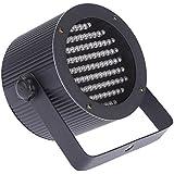Docooler 10W AC 90-240V RGB Lámpara de la Igualdad 86 Canales par de Luz LED 1/2/3/4 Luz del Efecto de Etapa de DMX 512 Sonido Activado