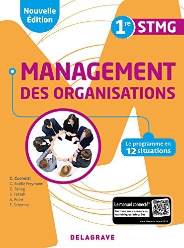 Management des organisations 1re STMG : Pochette élève
