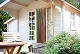 Streifenvorhang Multicolor, 90x200 cm, Türvorhang aus 34 Strängen und Aufhängeleiste, dekorativer Vorhang mit Polyester-Fäden, Dekovorhang blickdicht Insektenschutz
