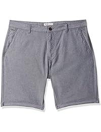 Indigo Nation Men's Regular Fit Cotton Shorts