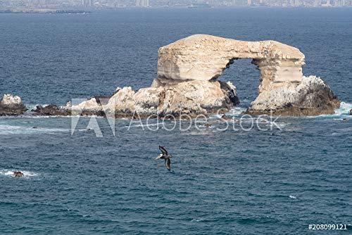 druck-shop24 Wunschmotiv: La Portada, Stones Arch in Antofagasta, Chile #208099121 - Bild als Foto-Poster - 3:2-60 x 40 cm / 40 x 60 cm (Foto Portada De)