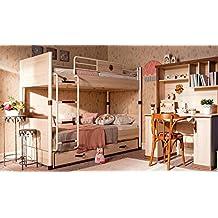 árbol de – Dormitorio Completa para niño O Niño – Incluye: litera con elaborado Retráctil