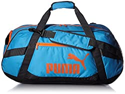 Puma Unisex atomic blue-asphalt-red blast Active TR Duffle Bag M-7330805