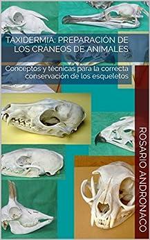 Taxidermia: Preparación de los cráneos de animales: Conceptos y técnicas para la correcta conservación de los esqueletos (Spanish Edition) by [Andronaco, Rosario]