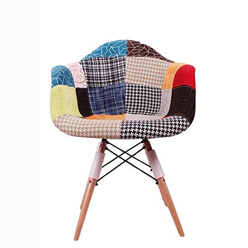 G-Y Faules Sofa, Nordisches Modernes Einsitziges Sofa, Wohnzimmer-Stuhl, Beiläufiger Büro-Stuhl (Farbe : Colorful Plaid) | Wohnzimmer > Stüle > Wohnzimmerstühle | XING ZI LAZY SOFA