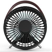 ColorFODA USB portable mini fan portable small fan bed, a small desk fan for student dormitories, offices, etc.