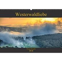 Westerwaldliebe (Wandkalender 2018 DIN A2 quer): Impressionen vom hohen Westerwald (Monatskalender, 14 Seiten ) (CALVENDO Natur)