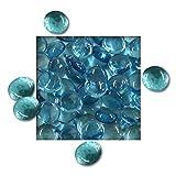 1 kg Glasnuggets 12/20 mm Deko Steine Glassteine Mosaiksteine