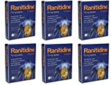 Ranitidine Tabs 75Mg 12 x 6 Indigestion and Heartburn Relief (72 Tablets)