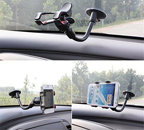 360 ° Car Phone Halter Anti-Shake Cell Phone Car Mount Halter für Smartphones Navigation