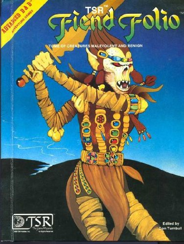 Fiend Folio Tome por Don Turnbull