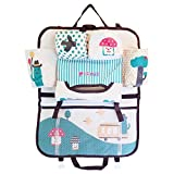 #7: Bulfyss Multipurpose Cartoon Back Seat Car Organizer-Premium Car Organizer for Kids,Baby,Storage Bottles,Tissue Box,Toys