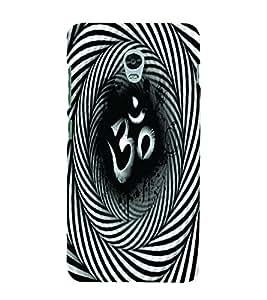 PrintVisa Religious & Spiritual OM 3D Hard Polycarbonate Designer Back Case Cover for Lenovo Vibe P1
