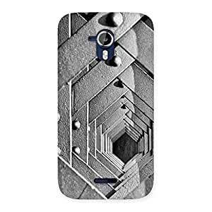 Special Block Cage Back Case Cover for Micromax Canvas Magnus A117