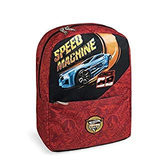 Mochila Escolar Mediana Hot Wheels by DIS2
