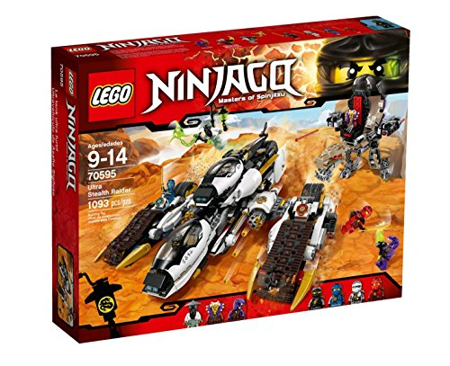 Die Besten LEGO Ninjago Kai Sets 2017 im Vergleich LEGO NINJAGO 70595 - Ultra-Tarnkappen-Fahrzeug