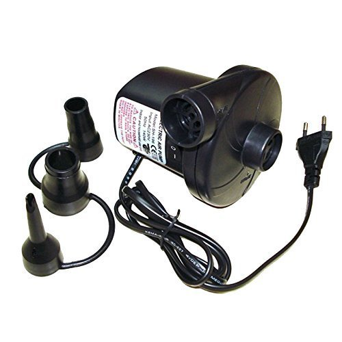Anvey Ac Electrical Air Pump, Quickly Inflates & Deflates All Large Volume Inflatables, voltage AC 230