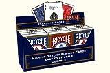 Formato Cartucho BICYCLE Poker (6 Juegos azul / rojo 6 Juegos)
