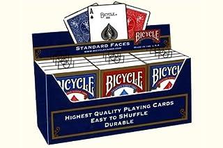Paket von 12 Pokerkarten Bicycle Standard (6 Blau / 6 Rot) by MC Young (B001AAK3BK) | Amazon Products
