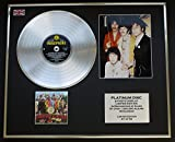 THE BEATLES/Platin Schallplatte & Foto-Darstellung/Limitierte Edition/'SGT. PEPPER'S LONELY HEARTS CLUB BAND'