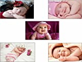 #10: Baby posters set   Set of Posters   Original Quotes Decorative Baby Posters (Pack of 5)   News Paper Size 14 inch x 26 inch   Great Designs   High Quality   Matte finish 32 micron lamination   Thick 300 gsm Imported Paper   Multi Colour Digital HD Printing   Home and Office ( Combo Set of 5 posters )
