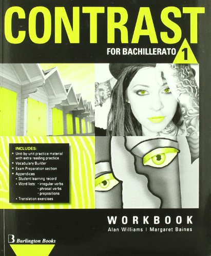 Contrast For Bachillerato 1. Workbook - 9789963485161