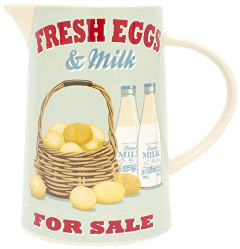 ECP - Jarra de leche (cerámica), diseño vintage