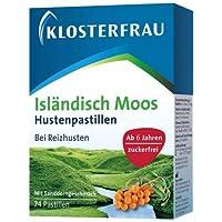 Klosterfrau Isländisch Moos Hustenpastillen - 24 Stück preisvergleich bei billige-tabletten.eu