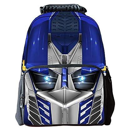 51TfOVnlrdL. SS416  - Transformers Mochila Escolar Para Niños Adolescentes Ligeros Mochilas Para Niños Y Niñas Bolsas Escolares De 8-15 Años