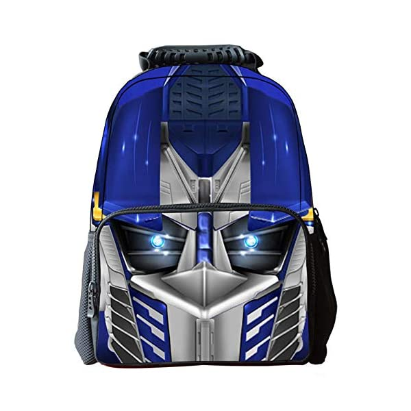 51TfOVnlrdL. SS600  - JIAN Mochila Infantil Transformers 3D Cartoon Anime Bag,Transformers(C)-42 * 18 * 29cm