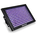 beamZ LCP192UV LED-Stroboskop-Panel Schwarzlicht-Lampe UV-Licht-Effekt schwarz