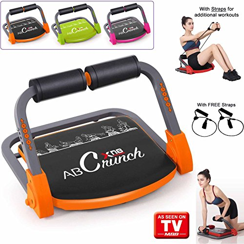 Xn8 ABS Core Smart Body Exercise Machine Fitness Trainer AB Toning Workout Gym Home Equipment cheaper than wondercore (Orange)