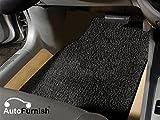 #3: Autofurnish Anti Skid Curly Car Foot Mats (Black) Universal