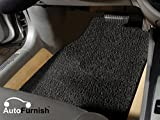 #9: Autofurnish Anti Skid Curly Car Foot Mats (Black) For Jeep Compass