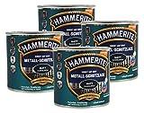 Hammerite Metallschutzlack 1l / 4x 250ml / dunkelgrün - matt