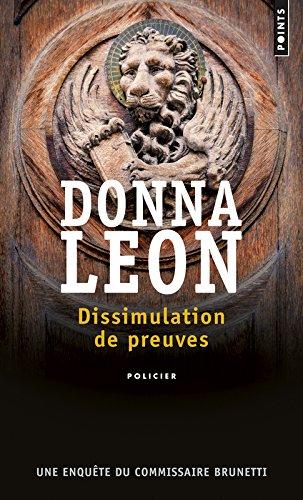 Dissimulation de preuves par Donna Leon