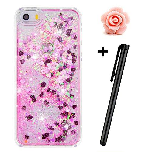 iphone-se-custodia-glitter-toyym-trasparente-galleggiante-brillantini-glitter-per-iphone-5s-se-3d-cr