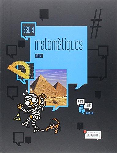 Matemàtiques 4t d'ESO LA Som Link (Projecte Som Link) - 9788447931521