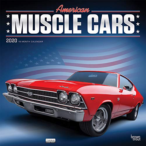 American Muscle Cars 2020 Calendar: Foil Stamped Cover par Browntrout Publishers, Inc