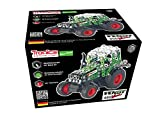 Metal Construction Model Kit Tractor Fendt Vario 800 freewheel 201 durable parts + real tools + picture instructions mechanical building set toy education learning age 12+ male farm adult STEM