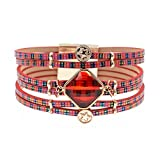 Ty-BLACK1 Bracelets ty-black1Fashion Glas Bohemian Armbänder Armbänder Schmuck wie Pic 19cm