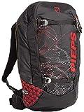 Pieps Jetforce Tour Rider 24 Lawinenairbag, Farbe:Black/red